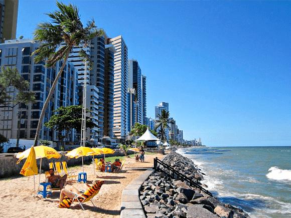 Lugares turísticos de Brasil: Recifes